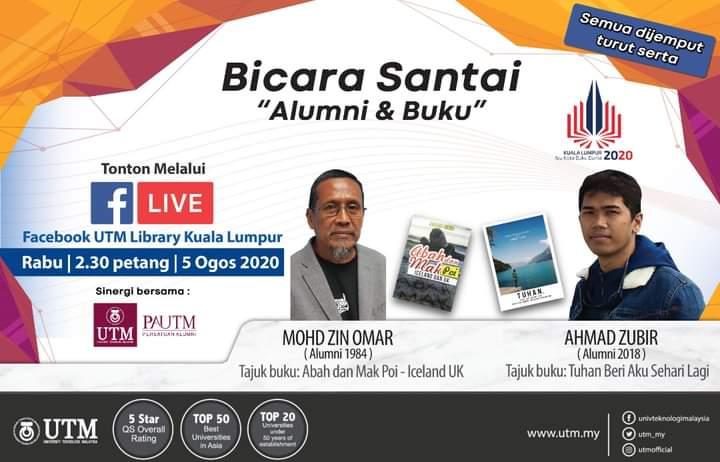 "Casual Talk ""Alumni & book"" @ FB LIVE STREAMING"